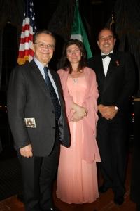 Il VP di Chrysler, Gualberto Ranieri, Marialuisa Lapresa, Mauro Pino